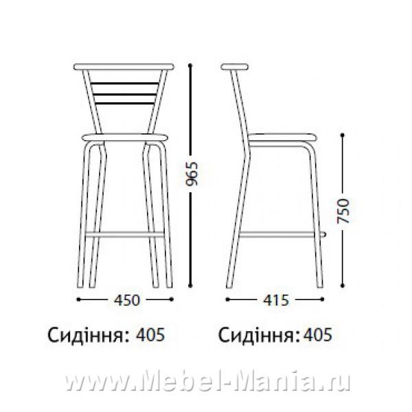 Как сделать барный стул своими руками чертежи
